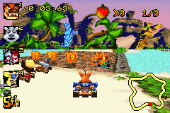 Crash Nitro Kart - My first race! - User Screenshot